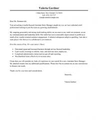 Cover Letter Sample For Retail