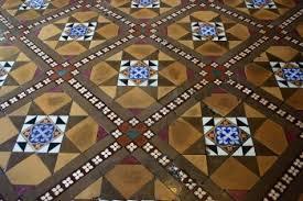 vintage mosaic floor