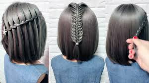 Cute Little Girls Hairstyle Tutorials Easy Hairstyles For Short