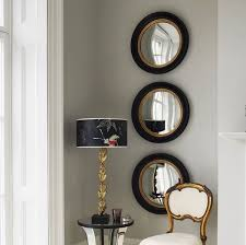 see what we can create hanging multiple similar mirrors on the same wall