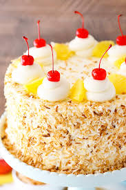 Pina Colada Layer Cake Life Love And Sugar