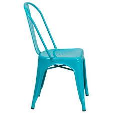 teal blue furniture. Flash Furniture Crystal Teal-Blue Metal Indoor-Outdoor Stackable Chair -  Macy\u0027s Teal Blue Furniture T