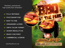 Barbecue Flyers Summer Bbq Flyer Template Flyerheroes