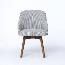 office chair upholstery. Love This Saddle Office Chair From @west Elm // Grey/ivory Upholstery