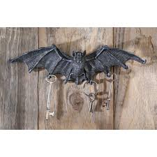 Wall Key Holder Creepy And Cool Hanging Bat Key Holder For Wall Gothicdecornet