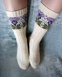 Thistle Knitting Chart Ravelry Corvids The Scottish Thistle The Socks For You