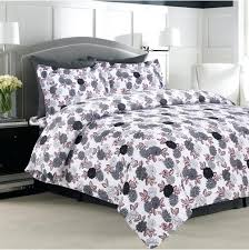 um image for ultra soft flannel 5 ounce printed duvet cover set various designs xl twin