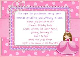 princess birthday invitations templates invitations ideas princess birthday party invitations card