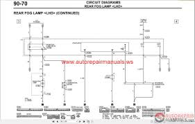 wiring diagram for mitsubishi l200 wiring wiring diagrams mitsubishi lancer ix 2005 wiring diagrams auto repair manual