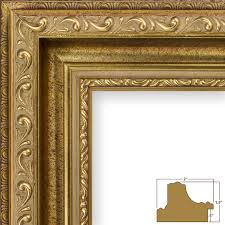 antique gold picture frames large 5x7 frame paint for armchair uk