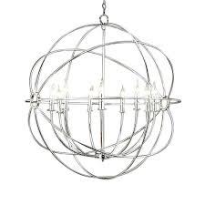 large black orb chandelier nickel orb chandelier polished nickel orb large brushed nickel crystal orb 6