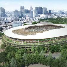 2020 Olympics Stadium Design Construction Work Starts On Kengo Kumas Tokyo 2020 Olympics