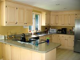 Kitchen Cabinets Refinished Repainting Metal Kitchen Cabinets Amys Office
