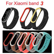 Colorful Belt Watchband <b>Silicone Replacement</b> Xiaomi Wrist Strap ...