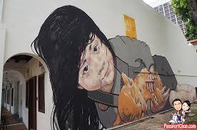 ernest zacharevic singapore street art cat victoria street on wall mural artist singapore with ernest zacharevic singapore street art locations joo chiat terrace