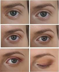eyeshadow for protruding round eyes