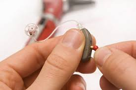Image result for behind the ear hearing aid