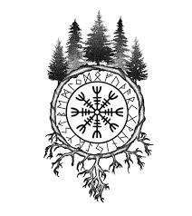 скандинавские эскизы татуировок арты 1933 Photos Vk лес