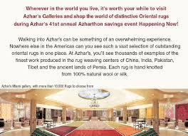 azhar s oriental rugs gallery