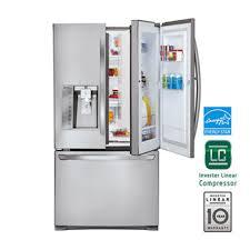 lg french door refrigerator freezer. ultra capacity 3-door french door refrigerator w/door lg freezer 7