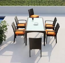 modern outdoor dining sets. Awesome Modern Outdoor Seating Sets Dining B