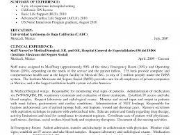 Valuable Ideas Med Surg Nurse Resume 2 Nursing Description Ahoy