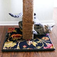 impressive decoration cat scratching carpet post dream a little bigger play rug mat as seen on