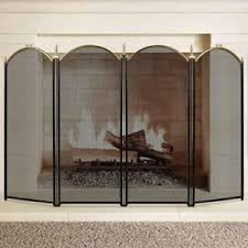 Unique fireplace screens Plow Fireplace Screen Panel Wrought Iron Metal Fire Place Large Gold Extendable Ebay Fireplace Screen Doors Ebay