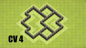 Cv 4 Layout H Brido Coc Clash Of Clans Youtube