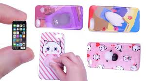 diy miniature iphone with case how to make lps crafts doll stuff miniature dollhouse things