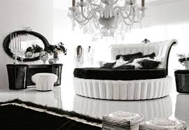 Calm and Elegant Nuance: Black & White Bedroom Ideas - Furniture ...