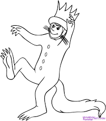 Small Picture Where The Wild Things Are Sketchindigobloomdesigns Travis bday