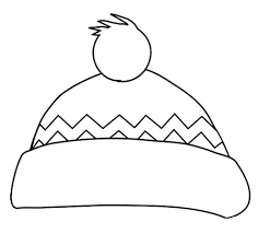 Small Picture Winter Hat Coloring Page January 15th National Hat Day