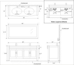 bathroom cabinet dimensions standard standard base cabinet depth sizes