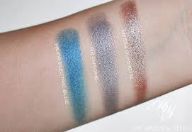 make up for ever artist shadow swatches me216 i112 me554