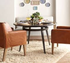 deanza round dining table