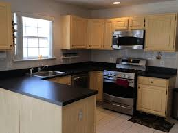 ikea kitchens fancy blue granite countertop cool lime green wall paint dark brown wooden countertop large round laurel decoration