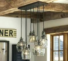 farmhouse pendant lighting fixtures barn pendant light fixture glass 8 light pendant pottery barn intended for farmhouse pendant lighting