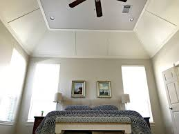 beautiful diy vaulted ceiling makeover
