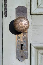 Door Knob Front View And The Art Of Knobs Locks Home Design