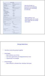 determining system requirements pdf group interviews interview several key people together advantages more effective use of time can