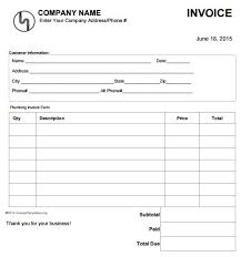 job invoice template info work invoice forms template resumeguide org