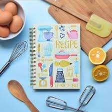 recipe book recipe cookbook stationery cooking keepsake food kitchen