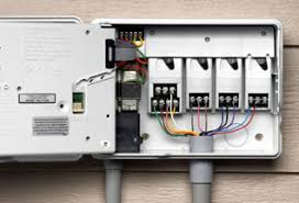 how to replace an irrigation controller timer wiring sprinkler system Wiring Sprinkler System irrigation controller rewired