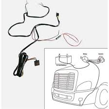wiring and adaptors big rig chrome shop semi truck chrome shop add to cart up34266 fog lamp wiring harness kit