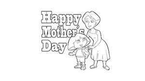 Top 20 Free Printable Mothers Day Coloring Pages Online