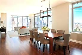 dining room chandelier height luxury how high should hang over table above from tabletop heigh