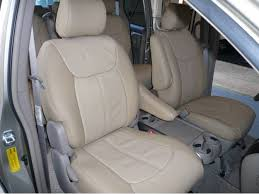 clazzio front row tan leather seat covers