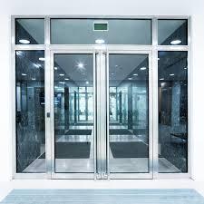 4 Glass doors: