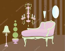 Pink Accessories For Living Room Home Accessories And Decor Living Room Stock Vector Ac Lanan